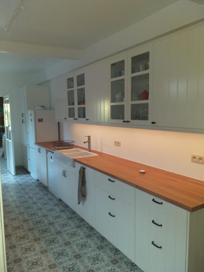 Préparation et installation de cuisine